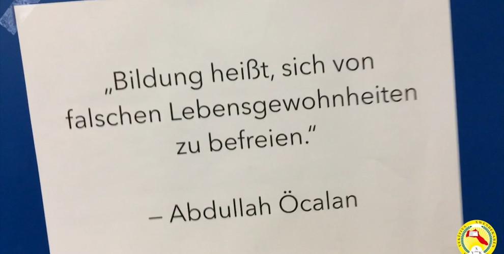 Anf Zitate Von Ocalan In Berliner Universitat
