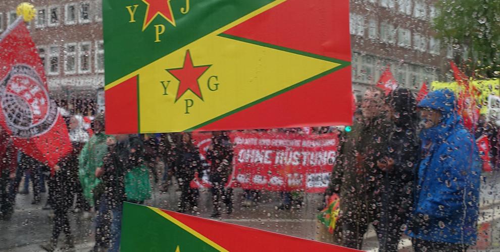 ANF | 1  Mai in Hamburg: Flagge zeigen