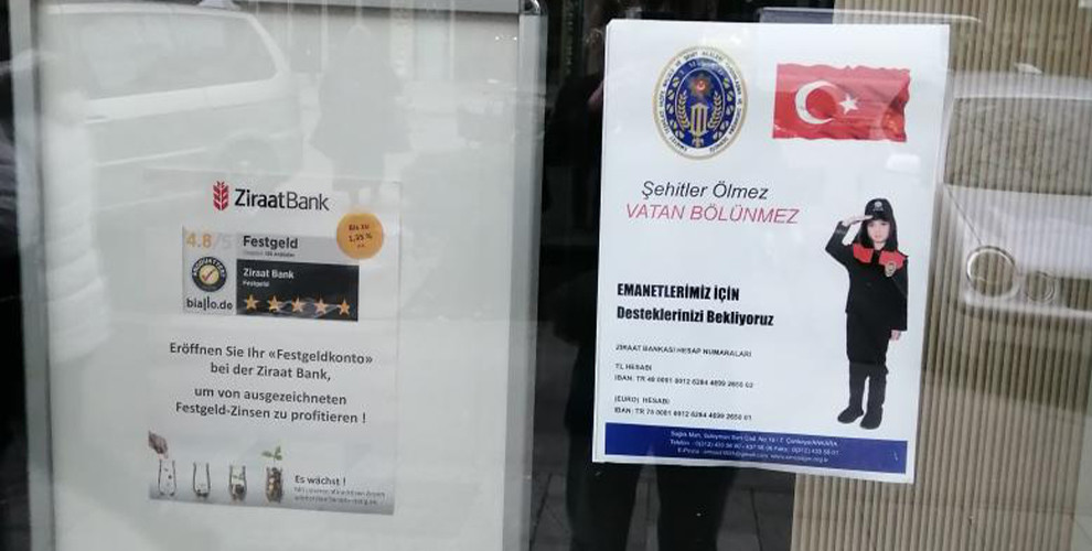 Anf Turkische Kriegspropaganda Mitten In Munchen